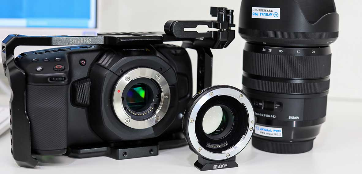 BMPCC4K metabones sigma art crop factor