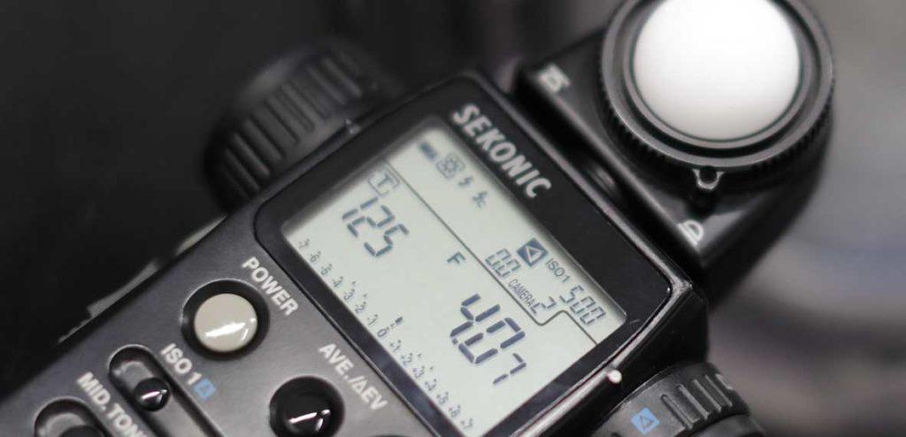 como usar un fotometro