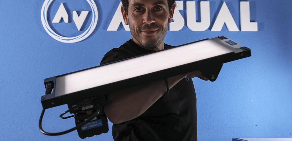 iluminación LED para vídeo