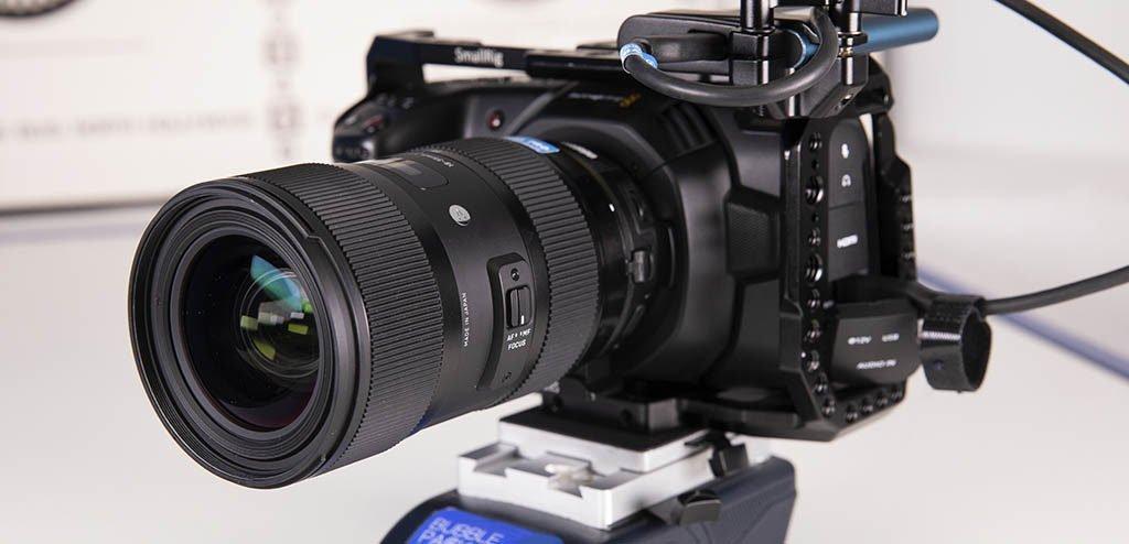 Objetivo Sigma Art EF 18-35mm F1.8