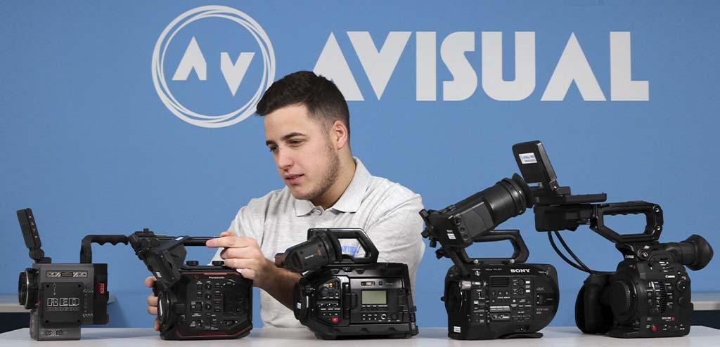 cámaras de cine