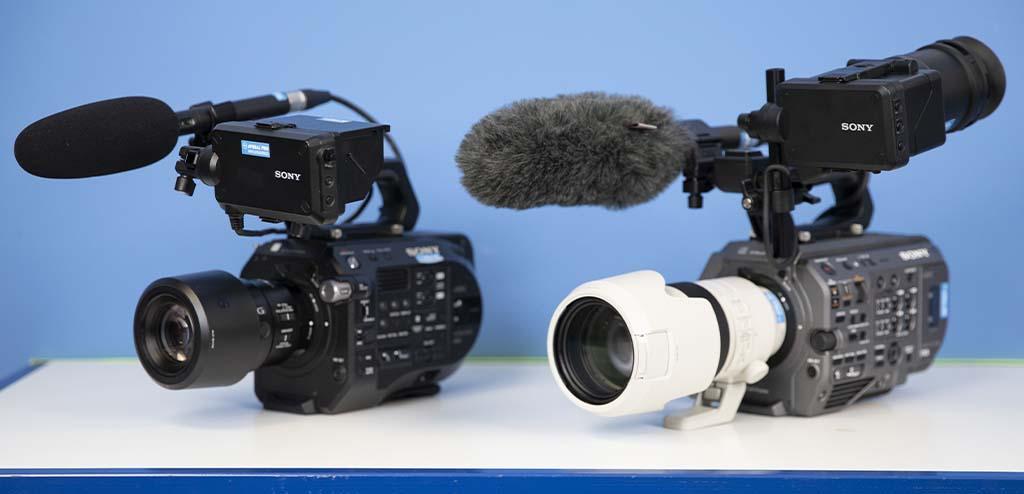 Comparativa Sony PXW-FX9 versus Sony PXW-FS7