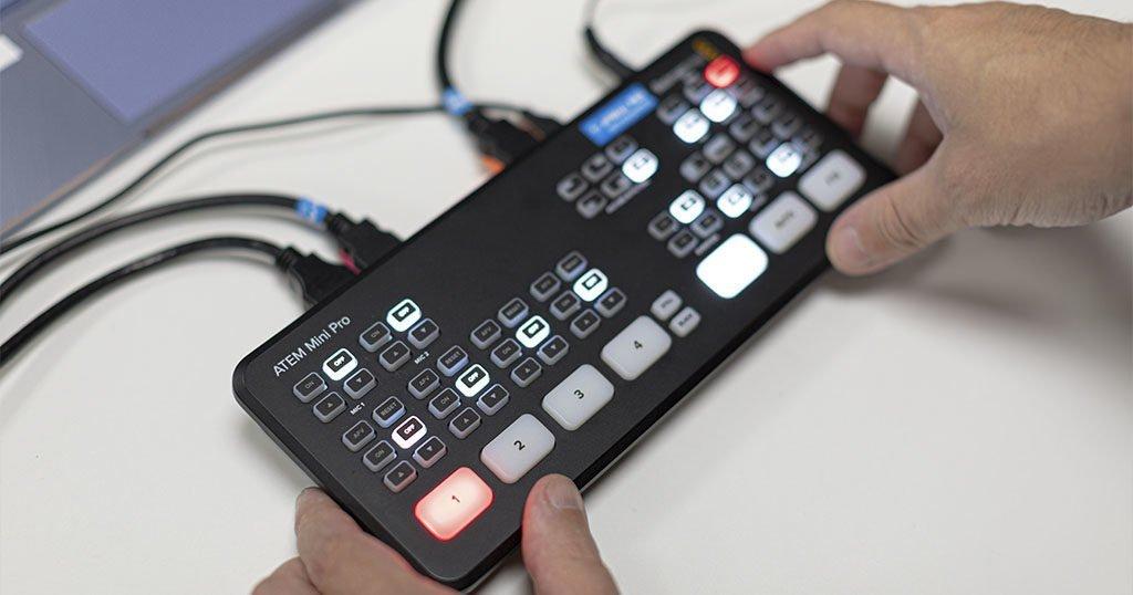 mezclador de video Blackmagicdesign