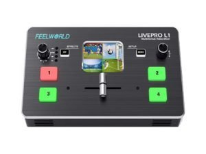 Mezclador de vídeo Feelworld LIVEPRO L12