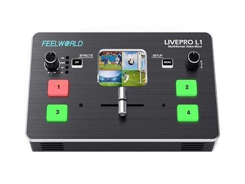 Mezclador de vídeo Feelworld LIVEPRO L12