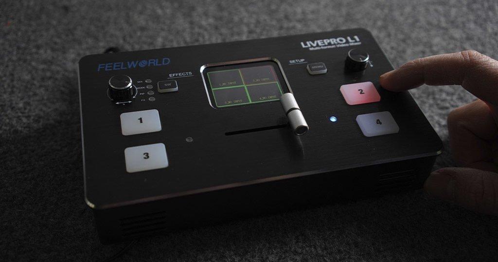 Mezclador de vídeo Roland