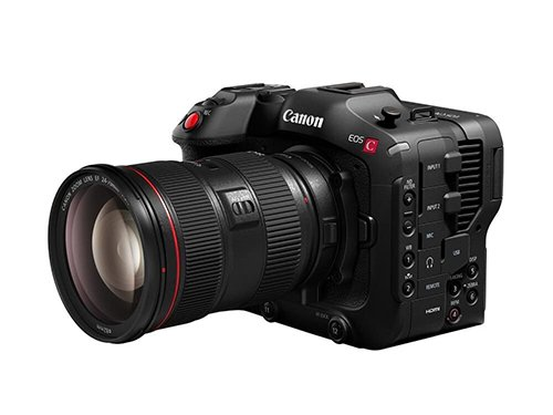 Canon EOS C70 + Objetivo Canon EF 24-105mm f/4L II IS USM