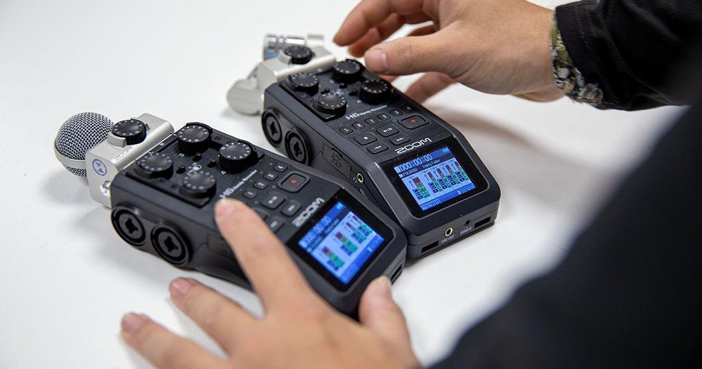 grabadora de sonido Zoom H6