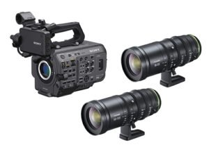 Sony PXW-FX9 + Objetivos Fujinon MKX 18-55/50-135mm T2.9 E