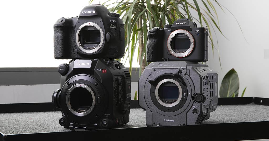 Top 4 cámaras Full Frame